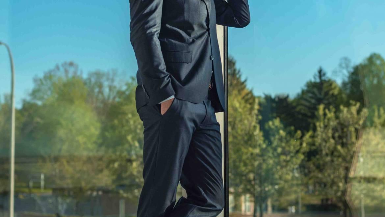The special men's suit
