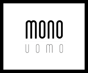 Logo image of Mono Uomo - a men's clothing brand carried by Richards Clothing at its store in London ON