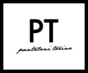 Official logo image of brand PT on the list of designer brands available page on richardsclothing.ca Premium fashion men's clothing store in London ON