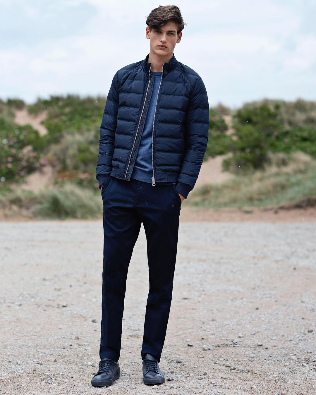 Stylish menswear by the brand Matinique