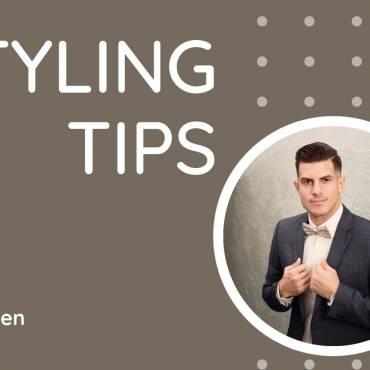 Styling tips for men
